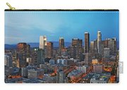 Downtown Los Angeles Carry-all Pouch by Kelley King