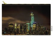 Downtown Manhattan At Night Carry-all Pouch