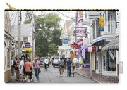Downtown Scene In Provincetown On Cape Cod In Massachusetts Carry-all Pouch