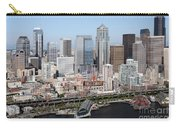 Downtown Seattle Washington City Skyline Carry-all Pouch