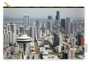 Downtown Skyline Of Seattle Carry-all Pouch