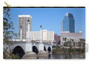 Downtown Skyline Of Springfield Massachusetts Carry-all Pouch