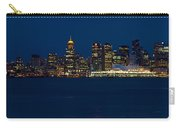 Downtown Vancouver At Night  Carry-all Pouch