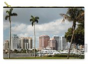 Downtown West Palm Beach Carry-all Pouch