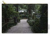 Downward Sloping Part Inside The National Orchid Garden In Singapore Carry-all Pouch