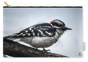 Downy Woodpecker 3 Carry-all Pouch