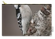 Downy Woodpecker Pictures 11 Carry-all Pouch