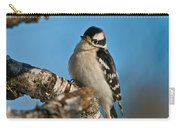 Downy Woodpecker Pictures 23 Carry-all Pouch