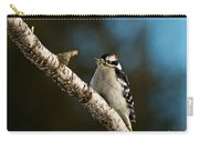 Downy Woodpecker Pictures 25 Carry-all Pouch
