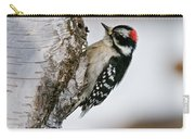 Downy Woodpecker Pictures 26 Carry-all Pouch