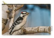 Downy Woodpecker Pictures 34 Carry-all Pouch