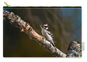 Downy Woodpecker Pictures 36 Carry-all Pouch