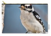 Downy Woodpecker Pictures 39 Carry-all Pouch