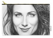 Dr. Lisa Cuddy - House Md Carry-all Pouch by Olga Shvartsur