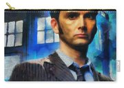 Dr Who Number 10  Carry-all Pouch