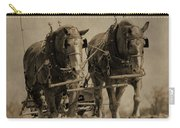 Draft Horses Carry-all Pouch