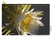 Dragon Fruit Blossom In Profile Carry-all Pouch