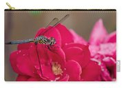 Dragon In The Rose Garden Carry-all Pouch