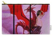 Dragon Power-featured In Comfortable Art Group Carry-all Pouch