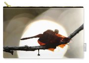 Dragonfly Bathing In Sunset Carry-all Pouch