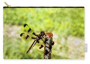 Dragonfly Eating Breakfast Carry-all Pouch
