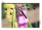 Dragonfly Gladiolus Carry-all Pouch