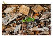 Dragonfly In Mulch Carry-all Pouch