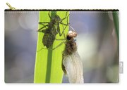 Dragonfly Metamorphosis - Fifth In Series Carry-all Pouch