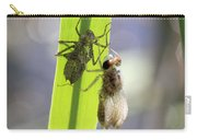 Dragonfly Metamorphosis - Fourth In Series Carry-all Pouch