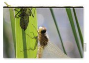 Dragonfly Metamorphosis - Seventh In Series Carry-all Pouch