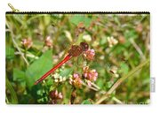 Dragonfly - Needham's Skimmer - Libellula Needhami Carry-all Pouch