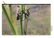 Dragonfly Newly Emerged - First In Series Carry-all Pouch