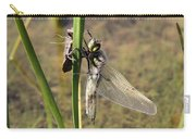 Dragonfly Newly Emerged - Second In Series Carry-all Pouch