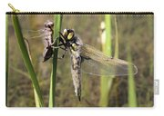 Dragonfly Newly Emerged - Third In Series Carry-all Pouch