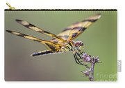 The Halloween Pennant Dragonfly Carry-all Pouch