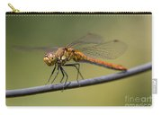 Dragonfly On A Wire Carry-all Pouch