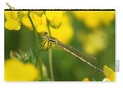 Dragonfly On Birds-foot Trefoil Carry-all Pouch
