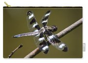 Dragonfly Twelve Spot Skimmer Carry-all Pouch