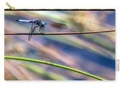 Dragonfly Walking A Tightrope Carry-all Pouch