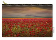Drama Over The Flower Fields Carry-all Pouch