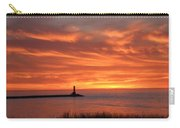 Dramatic Flaming Sunset Carry-all Pouch