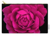 Dramatic Hot Pink Rose Portrait Carry-all Pouch