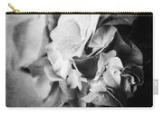 Dramatic Hydrangea In Black And White Carry-all Pouch