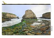 Dramatic Panoramic View Of Shark Fin Cove Carry-all Pouch by Jamie Pham