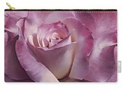 Dramatic Plum Rose Flower Carry-all Pouch