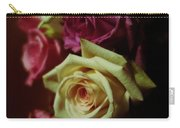 Dramatic Purple And Yellow Roses Carry-all Pouch