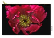 Dramatic Red Peony Flower Carry-all Pouch