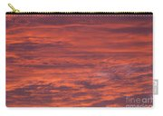 Dramatic Red Sky Carry-all Pouch