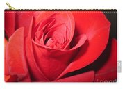 Dramatic Red Rose  Carry-all Pouch