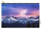 Dramatic Sawtooth Sunset Carry-all Pouch